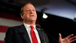 Democratic Colorado Governor-elect Jared Polis speaks at an election night rally on November 6, 2018 in Denver, Colorado. Polis defeated incumbent Republican Walker Stapleton to become the first openly gay man elected Governor in the country. (Photo by Rick T. Wilking/Getty Images)