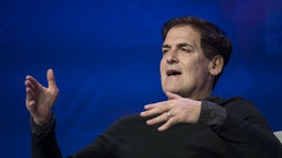 Mark Cuban, billionaire owner of the National Basketball Association's (NBA) Dallas Mavericks basketball team, speaks at the 2017 South By Southwest (SXSW) Interactive Festival at the Austin Convention Center in Austin, Texas, U.S., on Sunday, March 12, 2017. The SXSW Interactive Festival features a variety of tracks that allow attendees to explore what's next in the worlds of entertainment, culture, and technology.