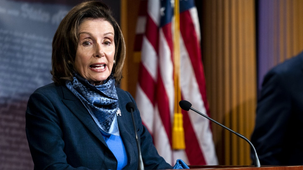 Pelosi Claims GOP Stalled PPP Funding. She Praised Democrats For Blocking It.