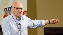 PASADENA, CA - JULY 29: James Carville at 'Art of the Campaign Strategy' panel during Politicon at Pasadena Convention Center on July 29, 2017 in Pasadena, California. (Photo by