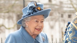 LONDON, ENGLAND - MARCH 09: Queen Elizabeth II attends the Commonwealth Day Service 2020 at Westminster Abbey on March 9, 2020 in London, England. (Photo by