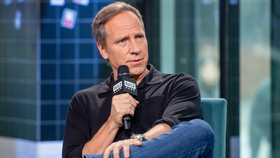 "Mike Rowe discusses ""Returning the Favor"" with the Build Series at Build Studio on February 05, 2019 in New York City."