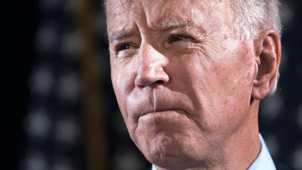 MARCH 12: Democratic presidential candidate former Vice President Joe Biden delivers remarks about the coronavirus outbreak, at the Hotel Du Pont March 12, 2020 in Wilmington, Delaware. Health officials say 11,000 people have been tested for the Coronavirus (COVID-19) in the U.S.