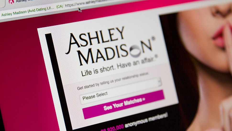 A detail of the Ashley Madison website on August 19, 2015. Hackers who stole customer information from the cheating site AshleyMadison.com dumped 9.7 gigabytes of data to the dark web on Tuesday fulfilling a threat to release sensitive information including account details, log-ins and credit card details, if Avid Life Media, the owner of the website didn't take Ashley Madison.com offline permanently.