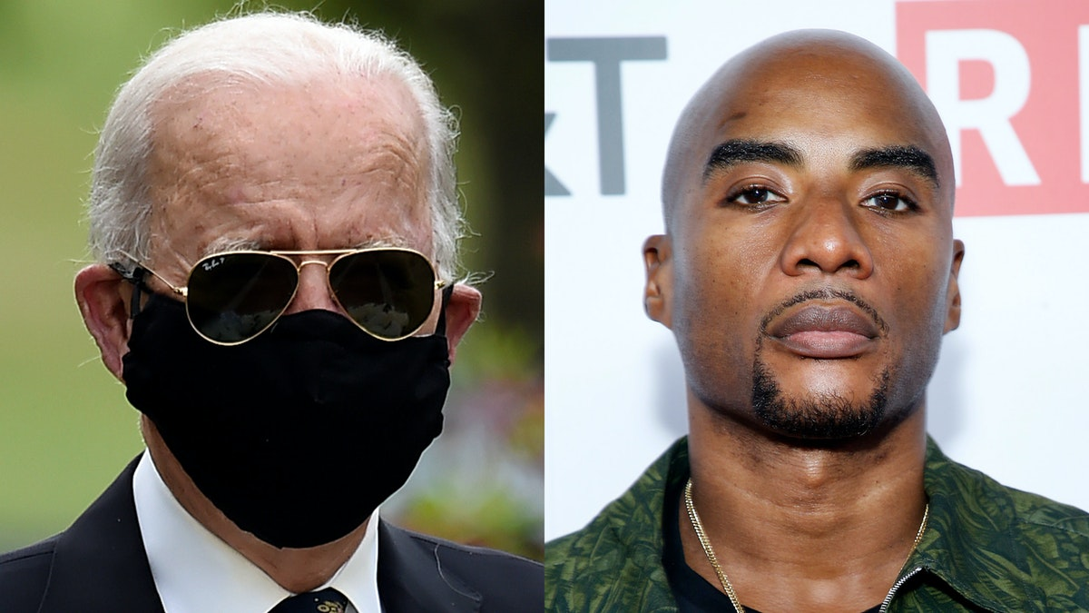 Democrat Joe Biden Blames Charlamagne Tha God For Making Racist 'You Ain't Black' Remark
