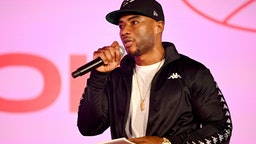 NEW YORK, NEW YORK - APRIL 07: Charlamagne Tha God speaks onstage at Beautycon Festival New York 2019 at Jacob Javits Center on April 07, 2019 in New York City.
