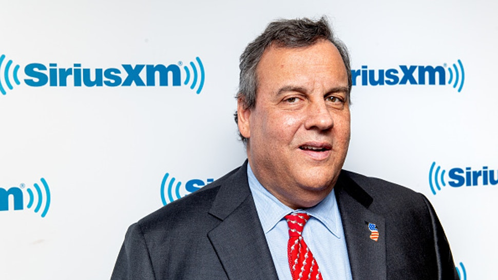 NEW YORK, NEW YORK - FEBRUARY 01: Former New Jersey Governor and presidential candidate Chris Christie visits SiriusXM Studios on February 01, 2019 in New York City.