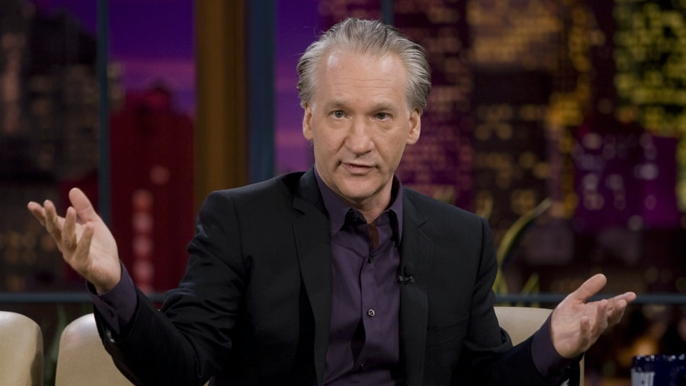 Television personality Bill Maher during an interview on October 7, 2008.