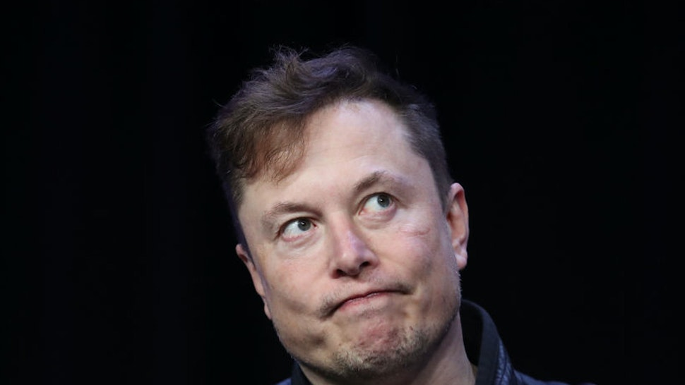 WASHINGTON, DC - MARCH 09: Elon Musk, founder and chief engineer of SpaceX speaks at the 2020 Satellite Conference and Exhibition March 9, 2020 in Washington, DC. Musk answered a range of questions relating to SpaceX projects during his appearance at the conference.