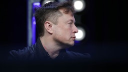 Elon Musk, Founder and Chief Engineer of SpaceX, attends the Satellite 2020 Conference in Washington, DC, United States on March 9, 2020. (Photo by Yasin Ozturk/Anadolu Agency via Getty Images)