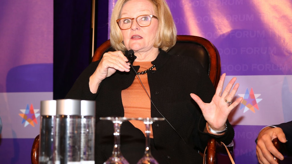 Claire McCaskill attends The Common Good Forum