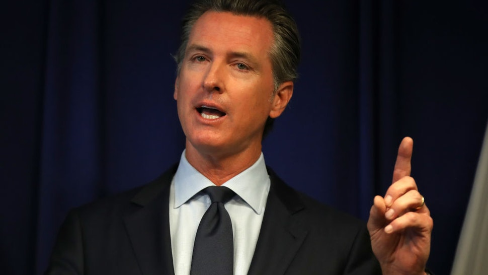 CA Gov. Newsom: 'Incumbent On Federal Government To Help Support' States