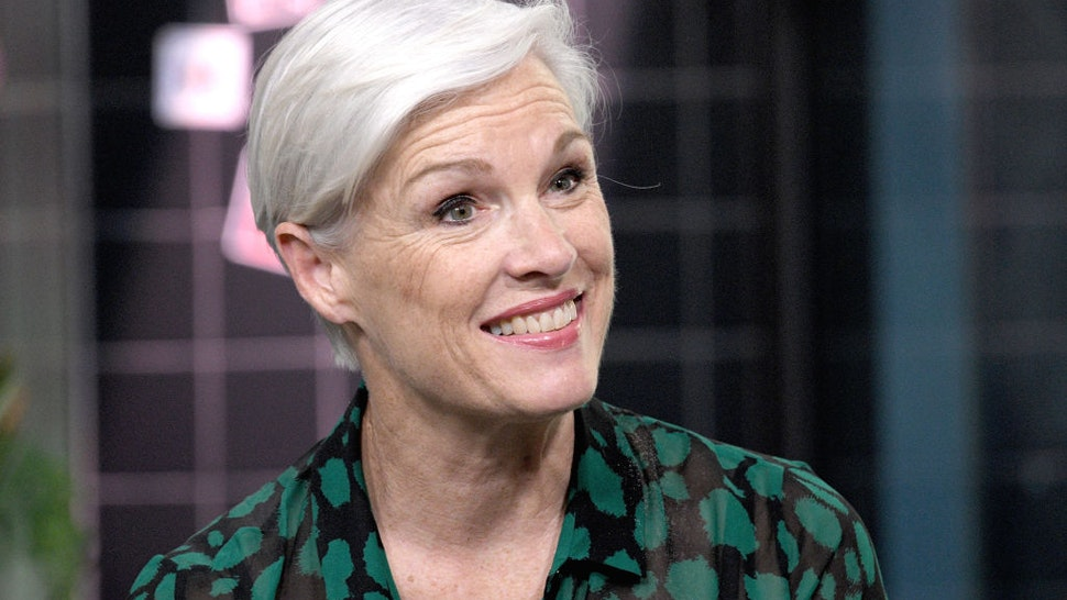 """Former President of Planned Parenthood, author Cecile Richards discusses the book """" Make Trouble: Standing Up, Speaking Out, and Finding the Courage to Lead – My Life Story"""" Young Readers Edition at Build Studio on October 15, 2019 in New York City."""
