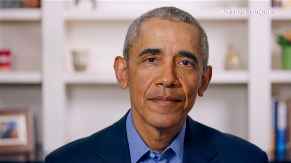 UNSPECIFIED - MAY 16: In this screengrab, Former President Barack Obama speaks during Graduate Together: America Honors the High School Class of 2020 on May 16, 2020. (Photo by Getty Images/Getty Images for EIF & XQ)