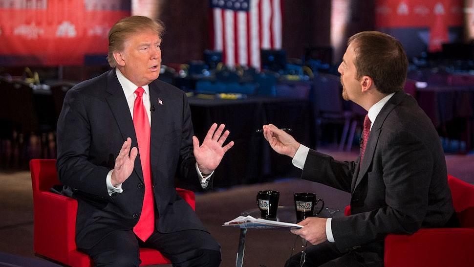 Donald Trump, Chuck Todd --