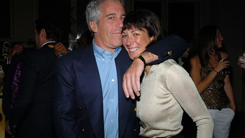 Jeffrey Epstein and Ghislaine Maxwell attend de Grisogono Sponsors The 2005 Wall Street Concert Series Benefitting Wall Street Rising, with a Performance by Rod Stewart at Cipriani Wall Street on March 15, 2005 in New York City.