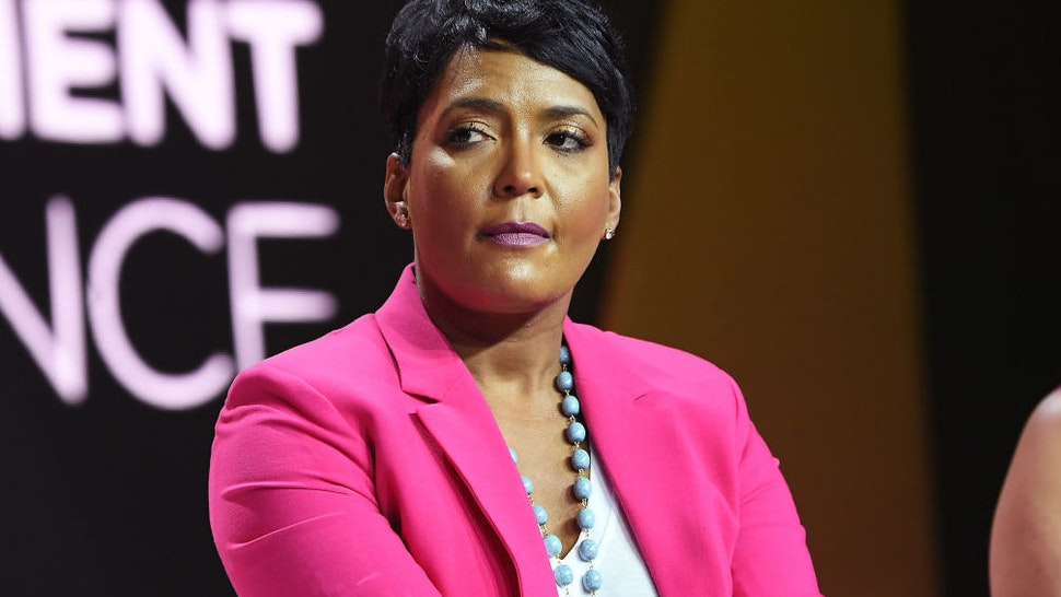 Mayor of Atlanta Keisha Lance Bottoms speaks onstage during the 2018 Essence Festival presented by Coca-Cola at Ernest N. Morial Convention Center on July 7, 2018 in New Orleans, Louisiana.