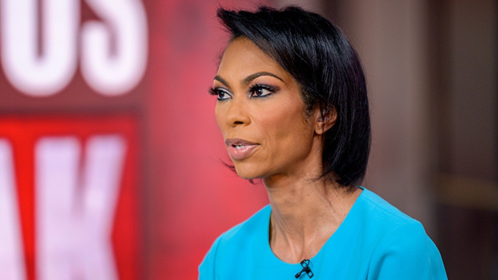 "NEW YORK, NEW YORK - MARCH 09: Harris Faulkner as Dr. Oz visits ""Outnumbered Overtime"" at Fox News Channel Studios on March 09, 2020 in New York City."
