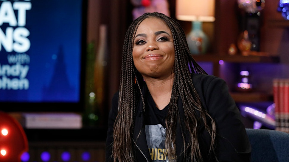 WATCH WHAT HAPPENS LIVE WITH ANDY COHEN -- Episode 17016 -- Pictured: Jemele Hill --