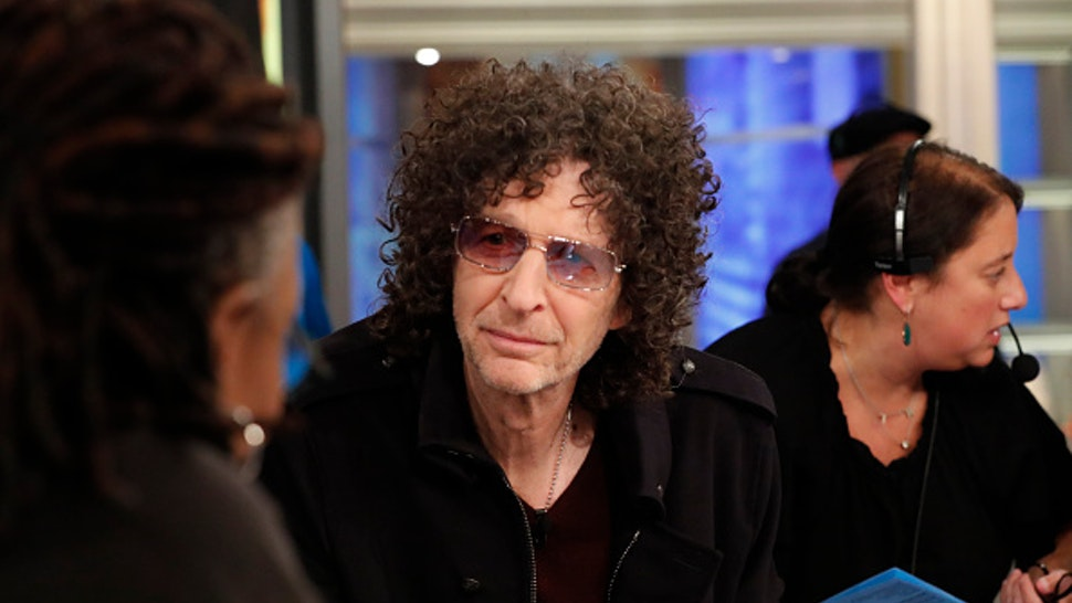 """THE VIEW - Howard Stern is the guest today Thursday, 5/15/19 on Walt Disney Television via Getty Images's """"The View."""" """"The View"""" airs Monday-Friday (11am-12pm, ET) on Walt Disney Television via Getty Images."""