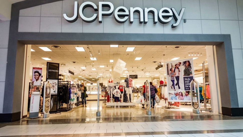 Miami, JC Penny Department Store, front entrance.