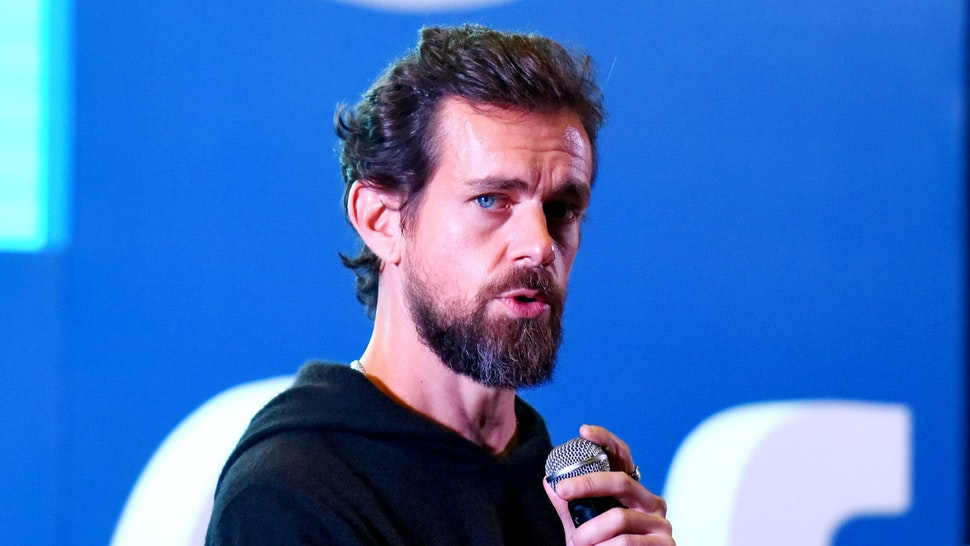 NEW DELHI, INDIA - NOVEMBER 12: Twitter CEO and Co Founder, Jack Dorsey addresses students at the Indian Institute of Technology (IIT), on November 12, 2018 in New Delhi, India.