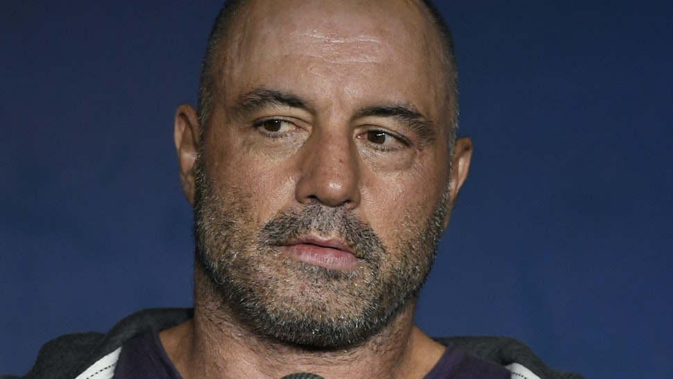 Comedian Joe Rogan performs during his appearance at The Ice House Comedy Club on August 07, 2019 in Pasadena, California. (Photo by Michael S. Schwartz/Getty Images)