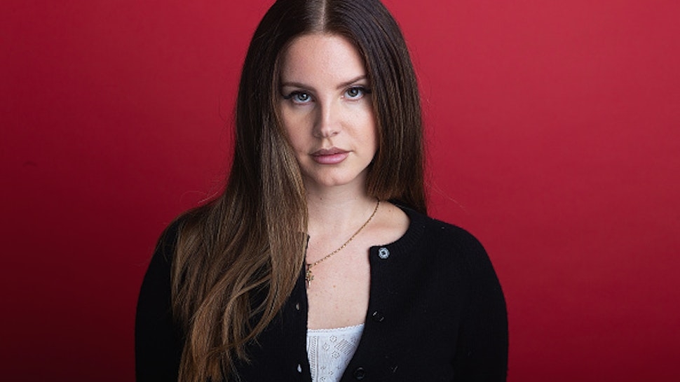 SEATTLE, WA - OCTOBER 02: Singer Lana Del Rey poses for a portrait during a visit to 107.7 The End on October 2, 2019 in Seattle, Washington.