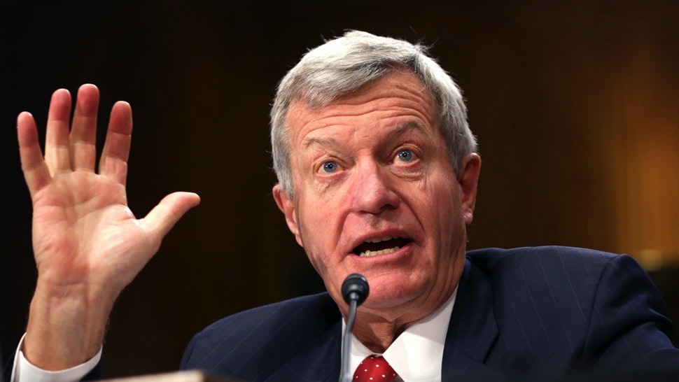 WASHINGTON, DC - JANUARY 28: U.S. Senator Max Baucus (D-MT) testifies during his confirmation hearing before the Senate Foreign Relations Committee January 28, 2014 on Capitol Hill in Washington, DC. Senator Baucus, who was nominated by President Barack Obama, will become the next U.S. ambassador to China if confirmed by the Senate.