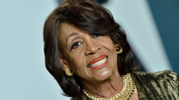 Maxine Waters attends the 2020 Vanity Fair Oscar Party hosted by Radhika Jones at Wallis Annenberg Center for the Performing Arts on February 09, 2020 in Beverly Hills, California. (Photo by Axelle/Bauer-Griffin/FilmMagic)