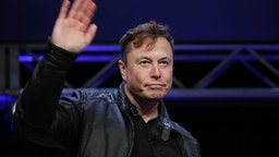 WASHINGTON DC, USA - MARCH 9: Elon Musk, Founder and Chief Engineer of SpaceX, attends the Satellite 2020 Conference in Washington, DC, United States on March 9, 2020.