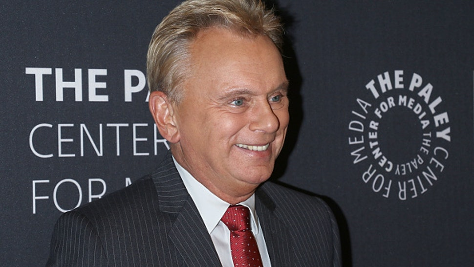 NEW YORK, NY - NOVEMBER 15: TV personality Pat Sajak attends The Wheel of Fortune: 35 Years as America's Game hosted by The Paley Center For Media at The Paley Center for Media on November 15, 2017 in New York City.
