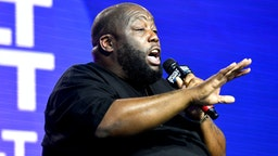 LOS ANGELES, CALIFORNIA - OCTOBER 25: Rapper Killer Mike attends the REVOLT & AT&T Summit on October 25, 2019 in Los Angeles, California.