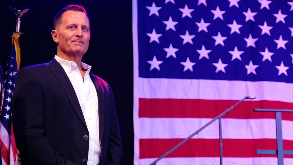 BERLIN, GERMANY - JULY 04: Trump-appointed U.S. Ambassador to Germany Richard Grenell attends the 4th of July party hosted by the U.S. Embassy at former Tempelhof Airport on July 04, 2019 in Berlin, Germany. Grenell has at times clashed with the German government over issues including Huawei and domestic politics.