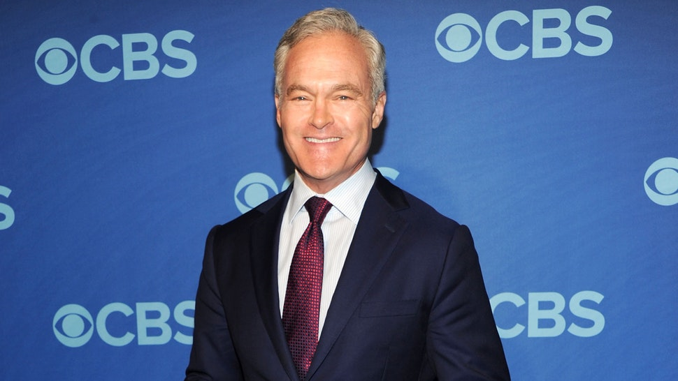 NEW YORK, NY - MAY 15: Scott Pelley attends CBS 2013 Upfront Presentation at The Tent at Lincoln Center on May 15, 2013 in New York City.