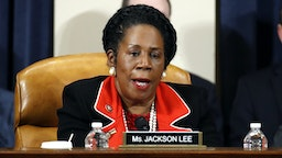 WASHINGTON, DC - DECEMBER 13: Rep. Shelia Jackson Lee, D-Texas, votes to approve the second article of impeachment as the House Judiciary Committee holds a public hearing to vote on the two articles of impeachment against U.S. President Donald Trump in the Longworth House Office Building on Capitol Hill December 13, 2019 in Washington, DC. The articles charge Trump with abuse of power and obstruction of Congress. House Democrats claim that Trump posed a 'clear and present danger' to national security and the 2020 election based on his dealings with Ukraine.