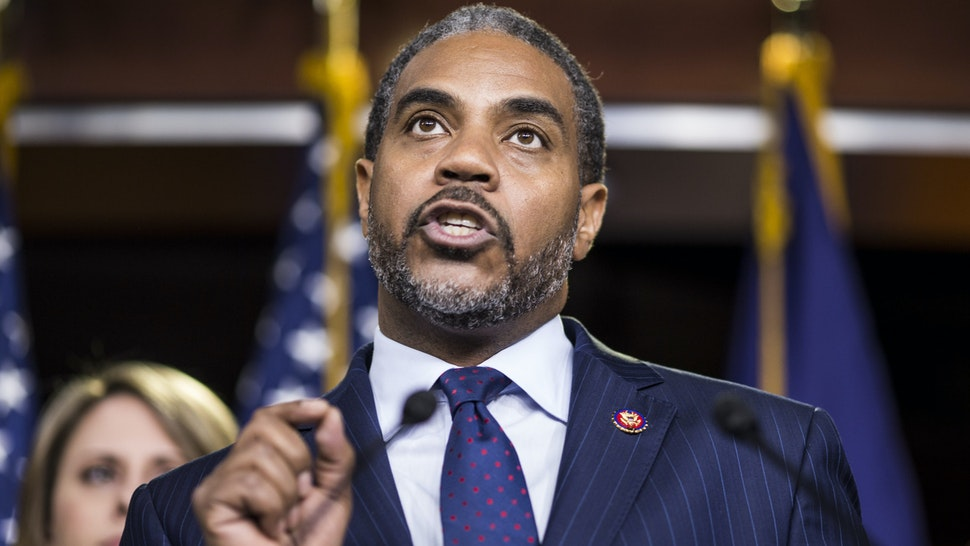 WASHINGTON, DC - APRIL 09: Rep. Steven Horsford (D-NV) speaks during a news conference on April 9, 2019 in Washington, DC. House Democrats unveiled new letters to the Attorney General, HHS Secretary, and the White House demanding the production of documents related to Americans health care in the Texas v. United States lawsuit.