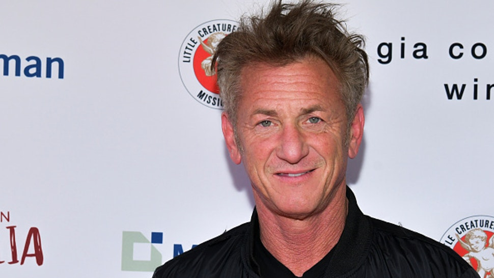 "LOS ANGELES, CALIFORNIA - MARCH 08: Sean Penn attends The Greater Los Angeles Zoo Association Hosts ""Meet Me In Australia"" To Benefit Australia Wildfire Relief Efforts at Los Angeles Zoo on March 08, 2020 in Los Angeles, California."