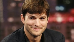 Ashton Kutcher on Jimmy Kimmel 2016