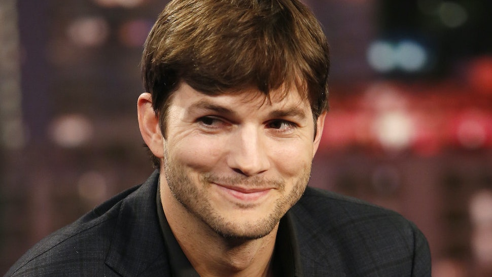 Ashton Kutcher on Jimmy Kimmel 2016