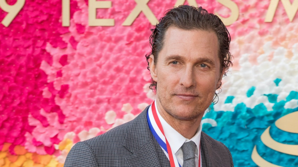 Honoree Matthew McConaughey attends the 2019 Texas Medal Of Arts Awards at the Long Center for the Performing Arts on February 27, 2019 in Austin, Texas.