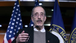 Representative Eliot Engel, a Democrat from New York, speaks during a news conference at the U.S. Capitol in Washington D.C., U.S., on Tuesday, Jan. 28, 2020. President Donald Trump's lawyers finished presenting his defense on Tuesday, their third day of arguments in the Senate impeachment trial. The next phase, 16 total hours of senators' questions for both sides, will begin Wednesday.