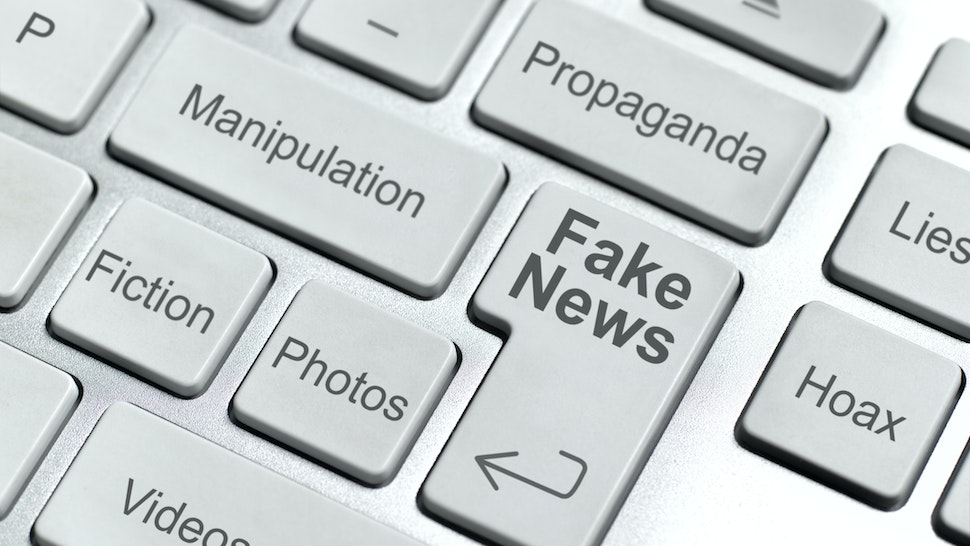 Fake news keyboard (Photo by Peter Dazeley/Getty Images)
