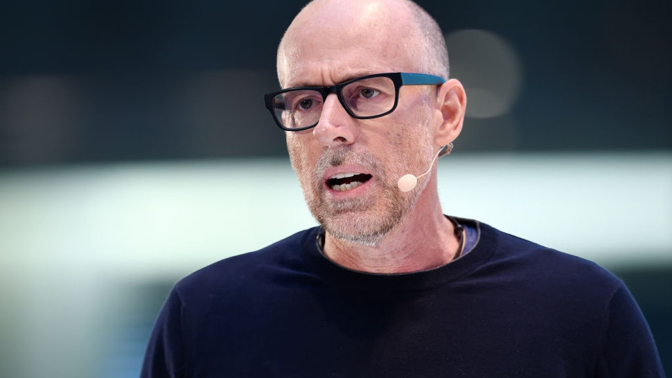 Scott Galloway, lecturer in Marketing at New York University, speaking at the DLD (Digital-Life-Design) conference in Munich, Germany, 18 January 2016.