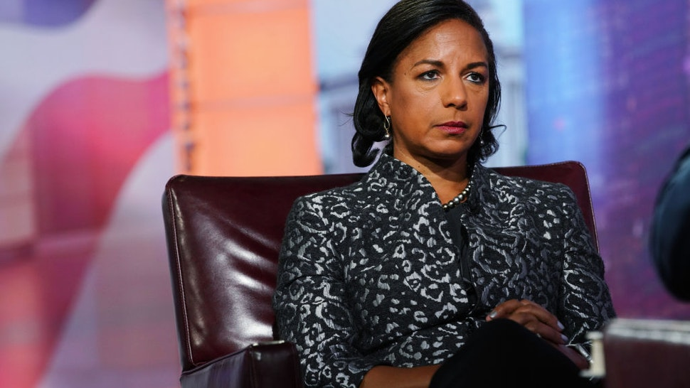 Susan Rice, former U.S. national security advisor, listens during a Bloomberg Television interview in New York, U.S., on Tuesday, Oct. 8, 2019.
