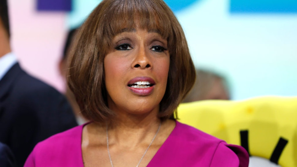 Gayle King attends as ViacomCBS Inc. rings the opening bell at NASDAQ on December 05, 2019 in New York City.