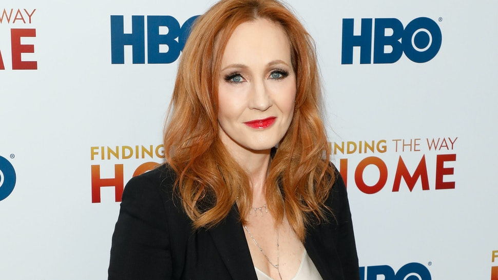 """NEW YORK, NEW YORK - DECEMBER 11: J.K. Rowling attends the premiere of """"Finding the Way Home"""" at Hudson Yards on December 11, 2019 in New York City. (Photo by Taylor Hill/FilmMagic)"""