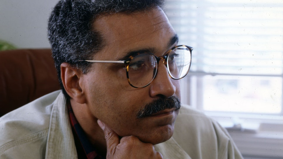 Portrait of American author Shelby Steele, California, 1990s.