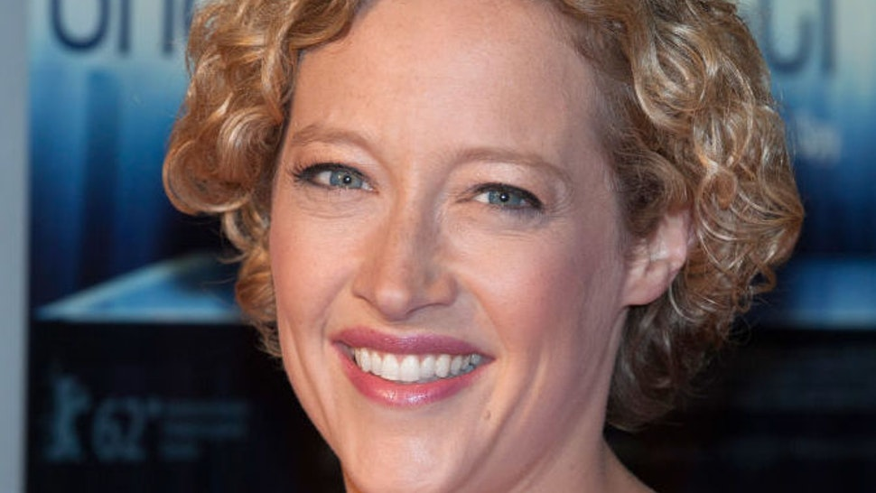 Cathy Newman attends The UK Film Premiere of Shadow Dancer at Cineworld Haymarket on August 13, 2012 in London, England.