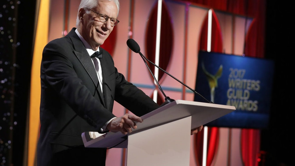 James Woods speaks onstage at the 2017 Writers Guild Awards L.A. Ceremony at The Beverly Hilton Hotel on February 19, 2017 in Beverly Hills, California.